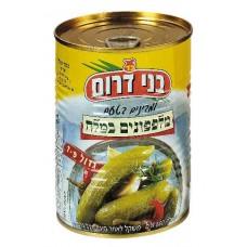 Pickles in Salt מלפפונים מלח בני דרום